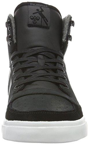 Hummel Unisex-Erwachsene Stadil Winter Sneaker High-Top Schwarz (Black)