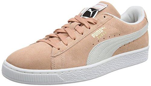Puma Unisex-Erwachsene Suede Classic Sneaker, Beige (Muted Clay White), 39 EU (Wildleder Puma-schuhe Männer)