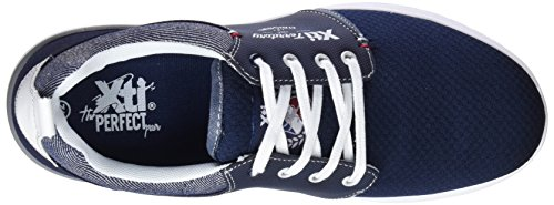 Xti 47145, Sneakers Basses Homme Bleu (Navy)