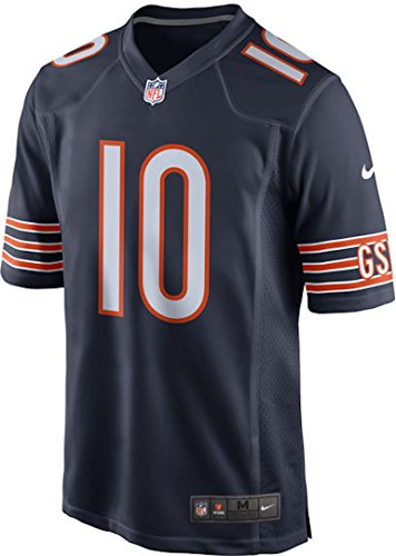 Nike Mitchell Trubisky Chicago Bears Game Jersey - Navy