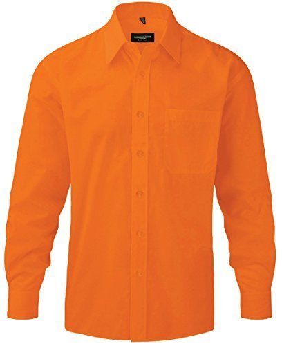 Russell Athletic - Chemise business - Col Chemise Classique - Homme Orange