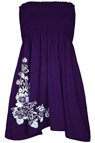 H&F Girls  ® Damen Kleid Gr. ML (38-40), violett