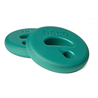 Beco AquaDisc SZ Aqua Training Discs Aqua Dumbbells Pair, Green