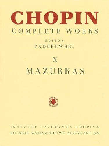 Mazurkas: Chopin Complete Works Vol. X (2013-01-01)