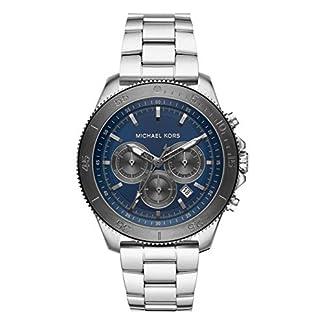 Michael Kors Reloj Cronógrafo para Hombre de Cuarzo con Correa en Acero Inoxidable MK8662