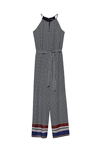 ESPRIT Collection Damen Jumpsuit 078EO1L001, Blau (Navy 400), 36 - 3
