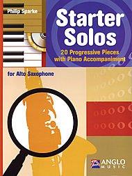HAL LEONARD Starter Solos für Alto sax-piano Begleitung (Leonard Sax)