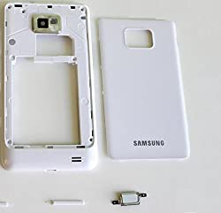 SAMSUNG GALAXY S2 i9100 FULL BODY HOUSING COVER WITH BACK PANEL (WHITE)
