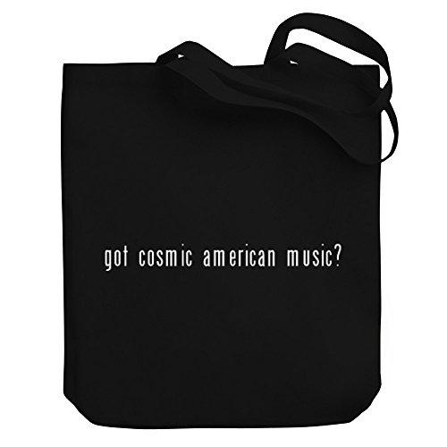 Teeburon Got Cosmic American Music? - Bereich für Taschen (Cosmic Music American)