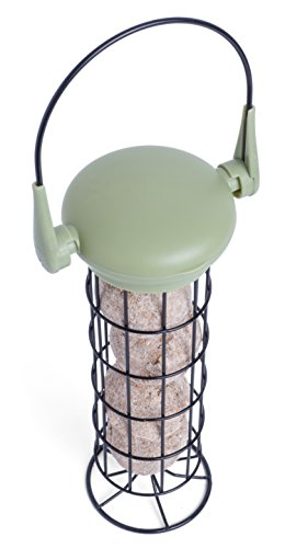 Petface 70040DS1 LokTop Squirrel Proof Fat Ball Feeder, Multi-Colour, 18.5x18.5x29 cm 2