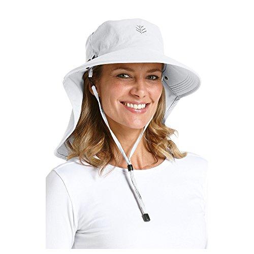 Coolibar Damen UV-Schutz Sonnenhut, Weiß, OneSize