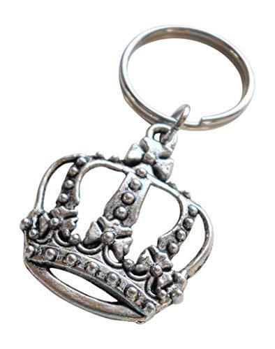 Jewelryeveryday grande crown portachiavi, king, queen