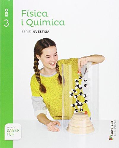 FISICA I QUIMICA SERIE INVESTIGA 3 ESO SABER FER - 9788468091235 por Mª Carmen Vidal Fernandez