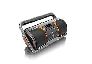 lenco boost 8 tragbarer cd mp3 player bluetooth usb sd. Black Bedroom Furniture Sets. Home Design Ideas
