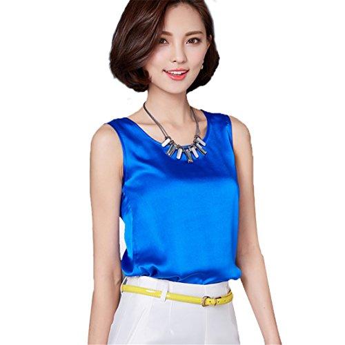 ECYC - Camicia -  donna A09:Royal Blue