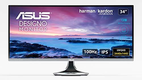 ASUS MX34VQ UltraWide Quad HD - Monitor pantalla PC