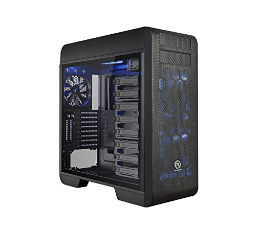 Thermaltake Core V71 TG (Tempered Glass, Full Tower PC-Gehäuse) (Pc-gehäuse Full-tower)