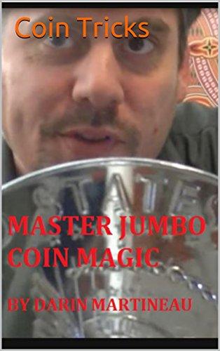Coin Tricks Master Jumbo Coin Magic (English Edition)