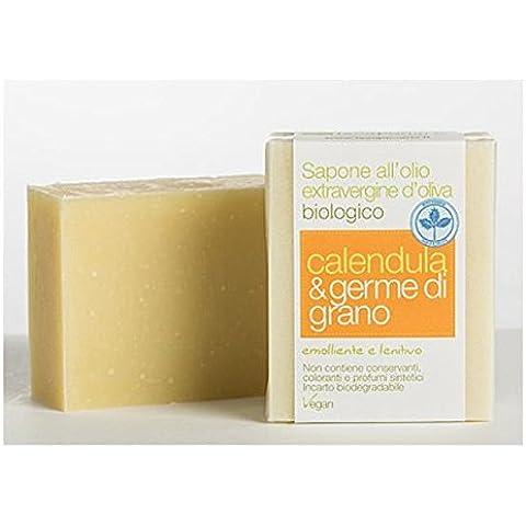 La esteatita Jabón Calendula y germe de trigo (saponi)/Soap Calendula and wheat Germ (saponi)