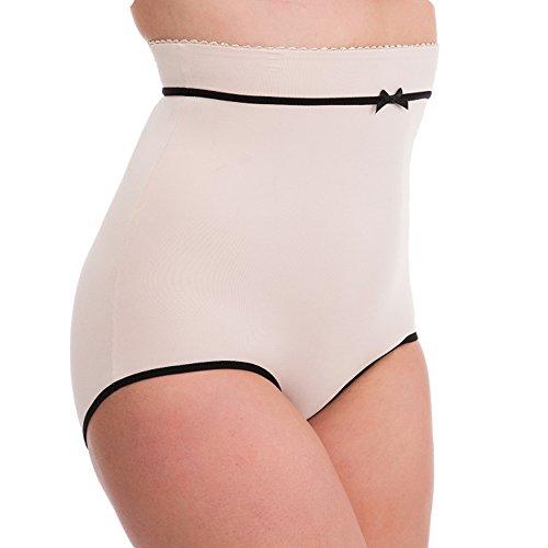 Frauen/Damen Unterwäsche/Shapewear Retro-Stil Hohe Taille Voll Slip Mit Bow, Verschiedene Farben & Größen Haut