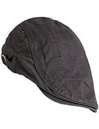 Béret de Coton Chic Bonnet Plat Confortable Chapeau de Golf pour Femmes Hommes