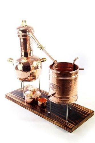 'CopperGarden®' Destillieranlage Arabia lifetime Supreme 2 Liter - Spiritus