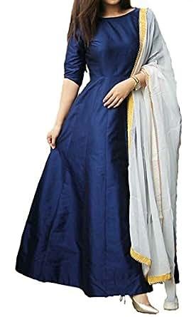 Jay Ambe Fashion Women'S Printed Long Cholis Lehenga Choli (New Printed Lehengha Choli_Black And White_Free Size)
