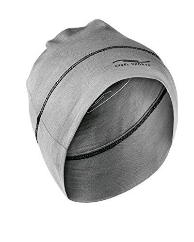 Sport Mütze, Engel Sports (Silver Stone), Wolle und Seide