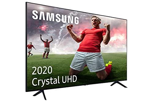 """Oferta de Samsung Crystal UHD 2020 50TU7095 - Smart TV de 50"""" con Resolución 4K, HDR 10+, Crystal Display, Procesador 4K, PurColor, Sonido Inteligente, Función One Remote Control y Compatible Asistentes de Voz"""