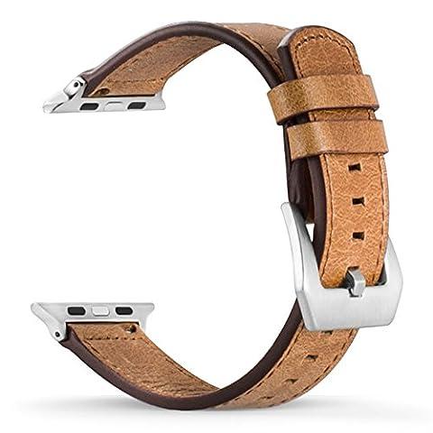 Apple Armbanduhr Crazy Horse Bands