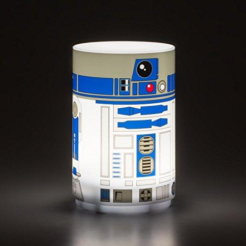 Star Wars R2-D2 Mini Light with Sound, Multi-Colour