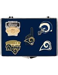 NFL cloisonne pins (5 pcs) St. Louis Rams