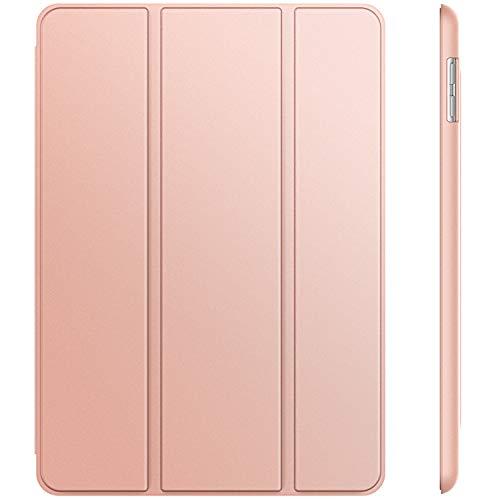 JETech Hülle Compatible für iPad (9,7 Zoll, Modell 2018/2017, 6. / 5. Generation), Intelligent Schutzhülle mit Auto Schlafen/Wachen, Roségold (Generation 5. Ipad)