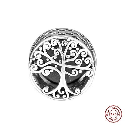 Funshopp europea 2018 autumn family roots openwork argento 925 originale diy adatto per pandora braccialetti charm fashion jewelry