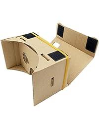 3D Virtual Reality Brille, Virtual Reality Brille für Google Karton 3D Brille Film Box Smart Phones