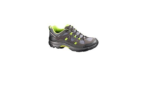 SALOMON Men's Loma GTX Hiking Shoes Grey Grey Grey Size: 14