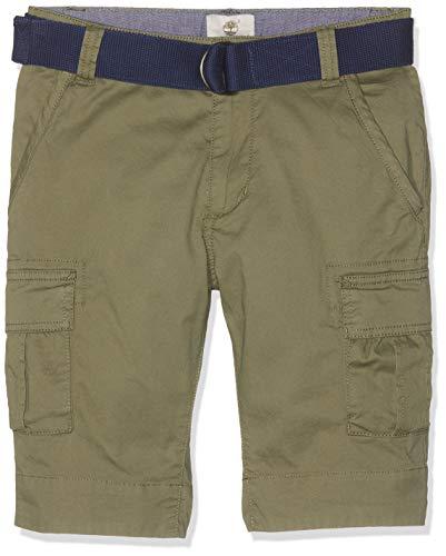 Timberland-herren-shorts (Timberland Jungen Badeshorts Bermuda+Ceinture Grün (Jungle 688) 8 Jahre (Herstellergröße: 08A))