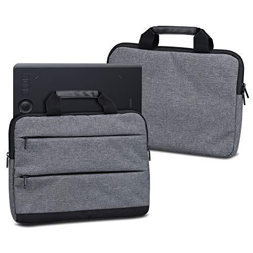 UC-Express Grafiktablett Hülle Schutzhülle für Wacom Intuos Pro L PTH-860 Sleeve Tasche Stift Tablett Schutzcase Tragetasche, Farbe:dunkel Grau