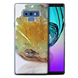 Stuff4® Gel TPU Hülle/Case für Samsung Galaxy Note 9/N960 / Oktober/Opalstein Muster/Edelstein/Stein Kollektion