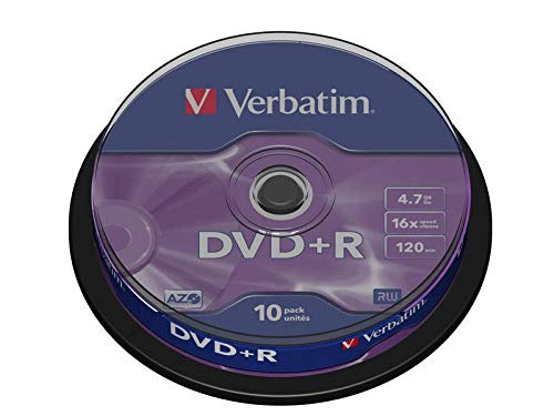 Verbatim 43498 DVD+R 16x Speed 1...
