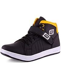 Aadi MENS BLACK COLOUR Canvas Casual Shoes