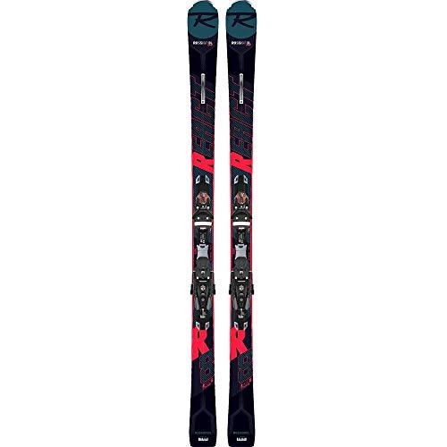 Rossignol - Pack Ski React R8 Ti + Fixations Spx12 K.gw Homme Noir - Homme - Taille 176 - Noir