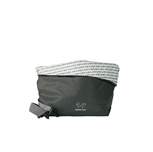 United Pets Sling Bag Dog Carrier, Grey 3
