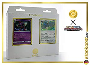 Traunmagil (Mismagius) 40/111 Y Staraptor 83/111 - #tooboost X Sonne & Mond 4 Aufziehen Der Sturmröte - Box de 10 Cartas Pokémon Aleman + 1 Goodie Pokémon