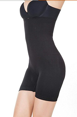 PrettyCat 4-In-1 Shaper - Tummy, Back, Thighs, Hips (Black)