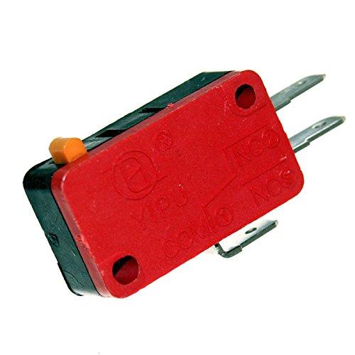 Mikrotaster Microswitch Öffner Schließer Taster Einbau Mikroschalter Endschalter Wippe Rolle Pinball Joy-Button (Schließer / Öffner)