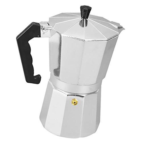 Sharplace Moka Express 3/6/9/12 Tassen Espressokocher aus Aluminium Kapazität Zum Auswahlen -...