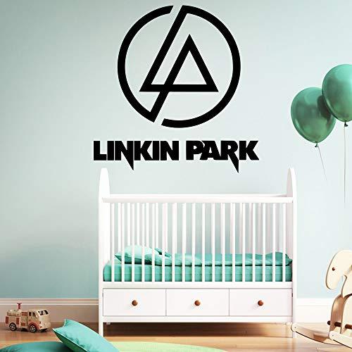 Heißer Verkauf Linkin Park Wandaufkleber Von Einrichtungs Aufkleber Dekorative Wallstickers Für Baby Kinderzimmer Decor Vinyl Kunst Aufkleber 43 cm X 43 cm