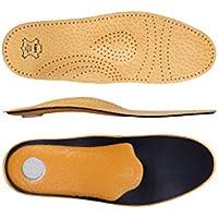 """KAPS Schuheinlagen """"Relax"""" Orthopädische Einlegesohlen aus Leder gegen Plattfüsse - Einlagen unterstützen die... preisvergleich bei billige-tabletten.eu"""