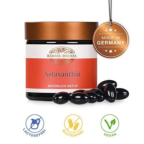 BÄRBEL DREXEL Astaxanthin Premium Energy REAL 4mg (40 Kapseln) 100% Vegane Herstellung (Made in Germany) Antioxidant Hawaiian Tropic